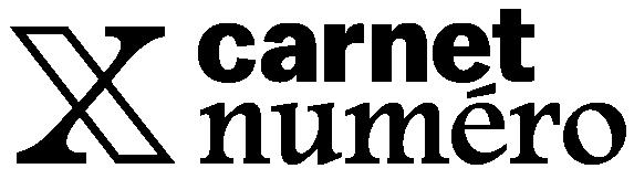 Carnet Numéro